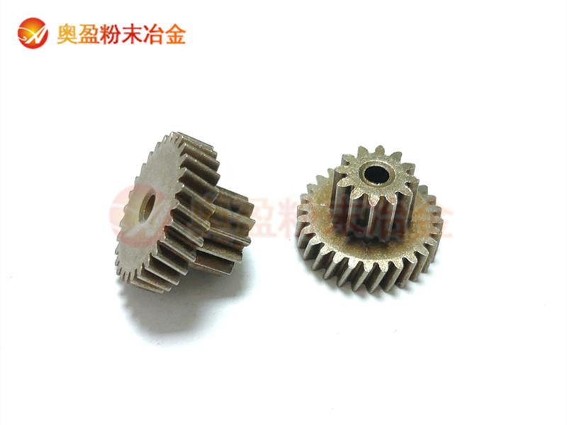 粉末冶金加工过程中压机取料自动化